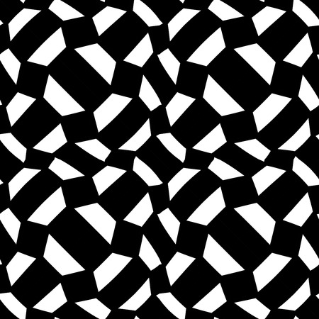 bed sheet: Vector modern abstract geometry psychadelic pattern. black and white seamless geometric crazy background . subtle pillow and bed sheet design. creative art deco. hipster fashion print