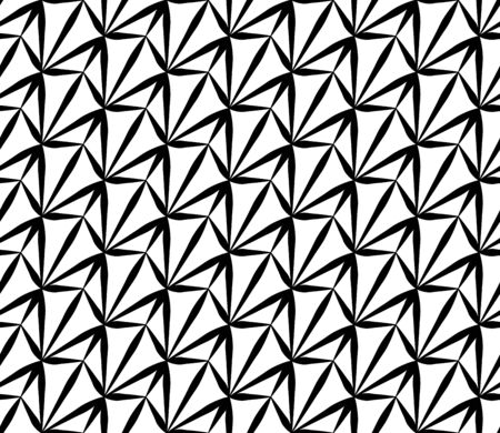 weird: Vector modern seamless geometry pattern weird, black and white abstract geometric background, subtle pillow print, monochrome retro texture, hipster fashion design
