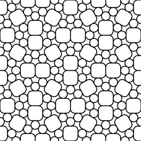trippy: Vector hipster seamless geometry pattern trippy, black and white abstract geometric background, subtle pillow print, monochrome retro texture, modern fashion design