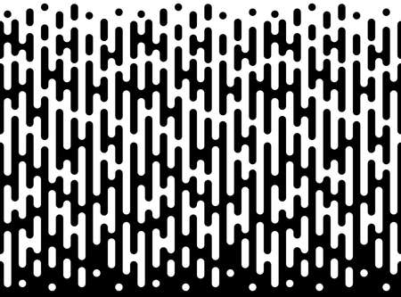 fade: Abstract geometric black and white hipster fashion pillow halftone  pattern