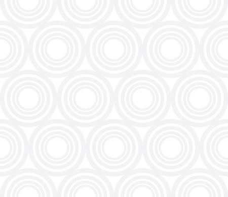 Modèle de cercles de géométrie abstraite moderne Vector. gris fond géométrique sans soudure. oreiller subtil et conception de drap de lit. art déco créatif. impression de mode hipster