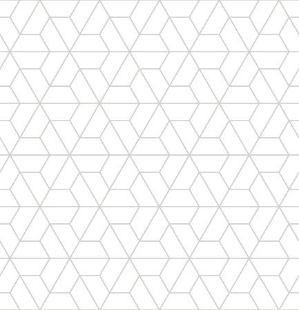 Vector motif abstrait moderne de la géométrie. fond gris géométrique transparente. oreiller subtile et la conception de drap de lit. créatif art déco. impression de la mode hippie
