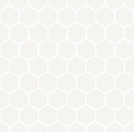 gray pattern: hexagon geometric light gray graphic design pattern Illustration