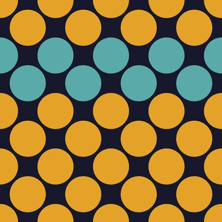Vector modern seamless colorful geometry dots pattern, color abstract geometric background, pillow multicolored print, retro texture, hipster fashion design