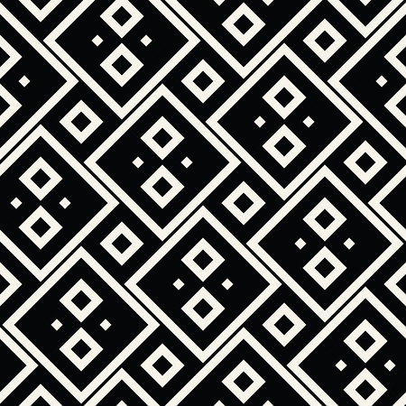 66460368 abstract geometric black and white graphic design print squares pattern