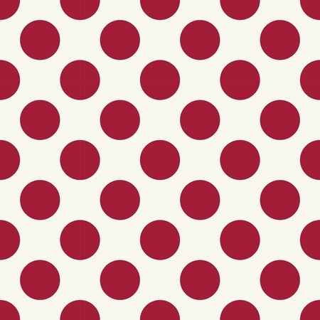 Abstract geometry red hipster fashion pillow polka pattern