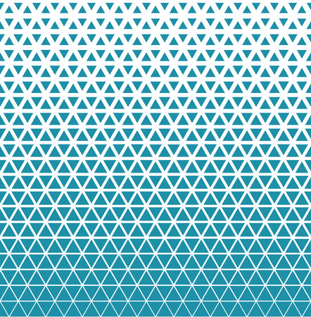 Abstract geometric blue graphic design triangle halftone pattern