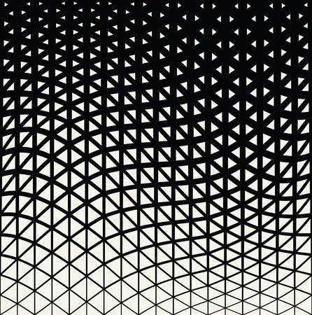 Abstract triangle géométrique motif en demi-teinte de conception