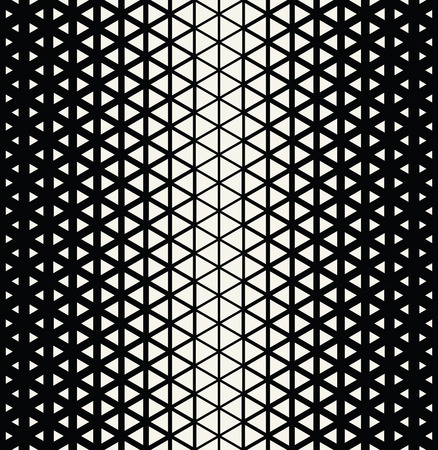 hex: Abstract geometric black and white graphic design triangle halftone pattern