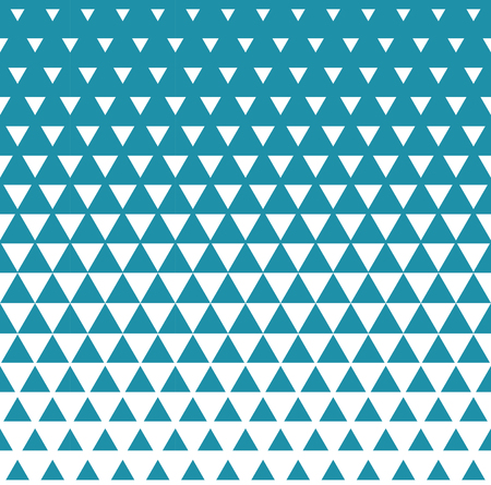Abstract geometric blue graphic design print triangle halftone pattern Illustration