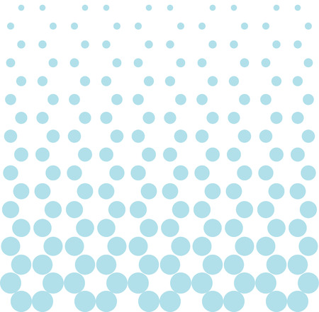 Abstract geometry blue fashion halftone dots pattern