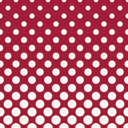 circles halftone seamless geometric gradient red  pattern