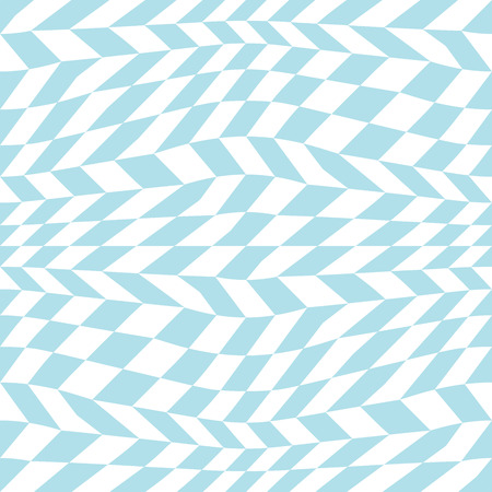 abstract geometric  blue trippy graphic 3d illusion pattern background Illustration