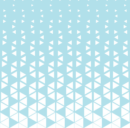 abstract geometric halftone triangle gradient pattern background