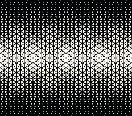 hex: abstract geometric hexagon halftone gradient pattern background