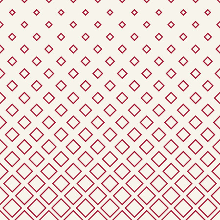halftone red square geometric gradient pattern Illustration