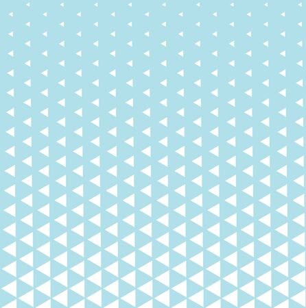 geometric triangle halftone minimal pattern vector background Illustration