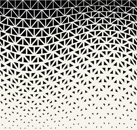 geometric halftone triangle minimal graphic vector pattern 矢量图像