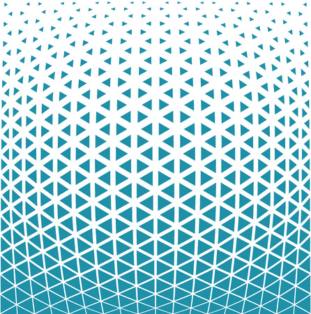 geometric triangle halftone minimal pattern vector background Illustration