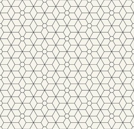 神聖な幾何学グリッド グラフィック デコ六角形パターン 写真素材 - 74826752