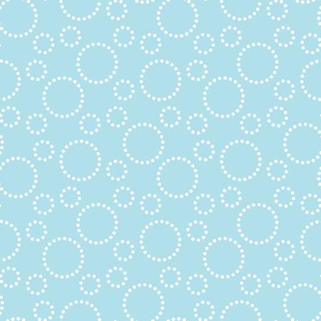 geometric dashed circles graphic print pattern background