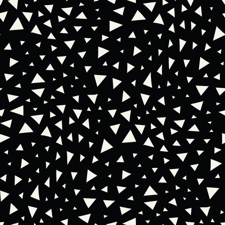 seventies: minimal graphic geometric triangle seamless memphis pattern