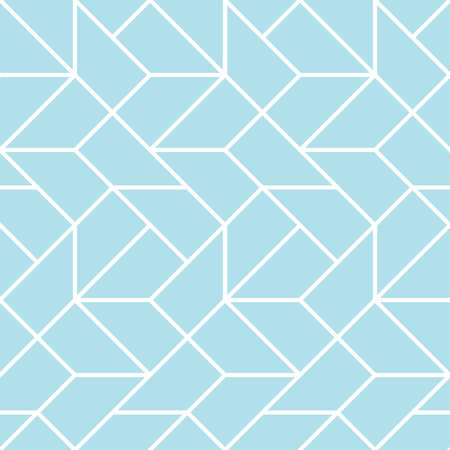 Abstract geometric grid art deco vector pattern