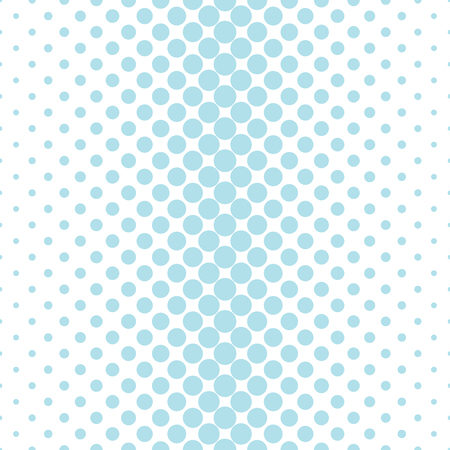 bed sheet: Circles halftone seamless geometric gradient blue  pattern