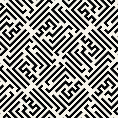 bed sheet: abstract geometric line graphic maze pattern background
