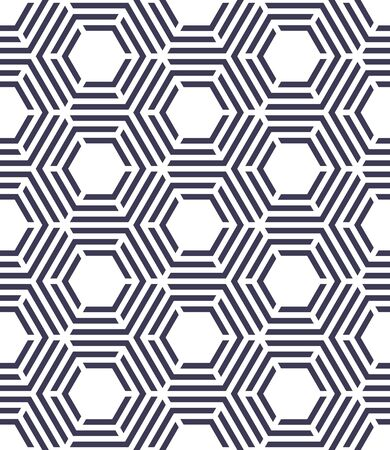 bed sheet: abstract geometric hexagon unique graphic pattern background