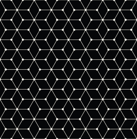 bed sheet: sacred geometry grid graphic deco hexagon pattern