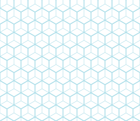 bed sheet: hexagon geometric line grid pattern vector background Illustration