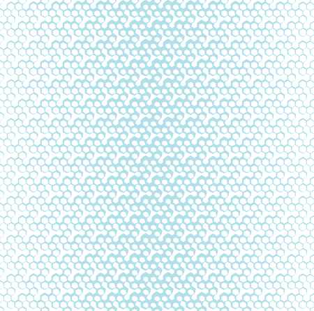 eighties: Geometric hexagon seamless pattern background