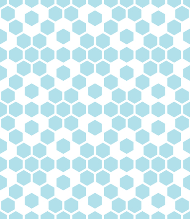A geometric hexagon seamless vector grid pattern background. Illustration