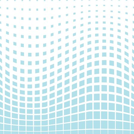 eighties: vector geometric square halftone pattern background