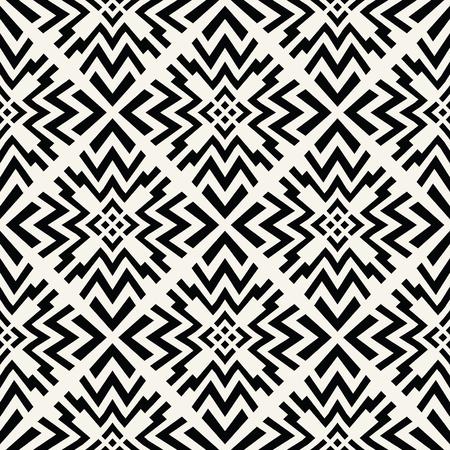 シームレスな幾何学的な正方形の行デザイン奇抜なベクトル パターン  イラスト・ベクター素材