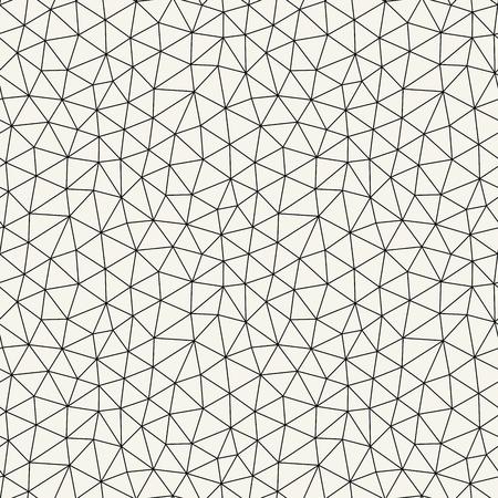 Triangle abstrait géométrique minimal fond de motif de grille