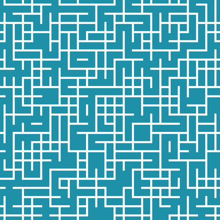 grid background: geometric lines maze seamless abstract pattern