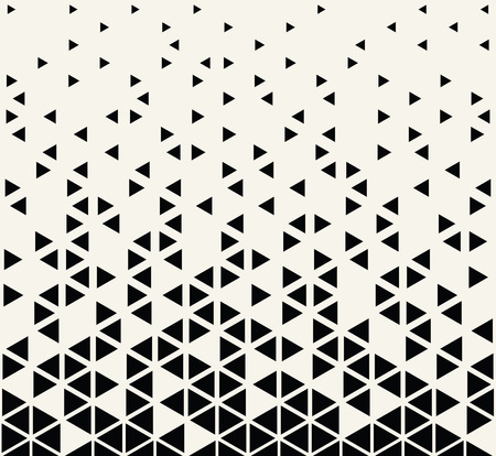abstract seamless geometric triangle vector pattern
