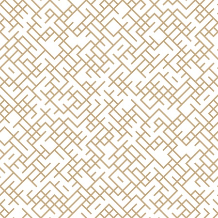 geometric lines maze seamless abstract pattern