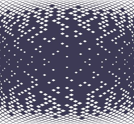 Diamond geometric gradient pattern.