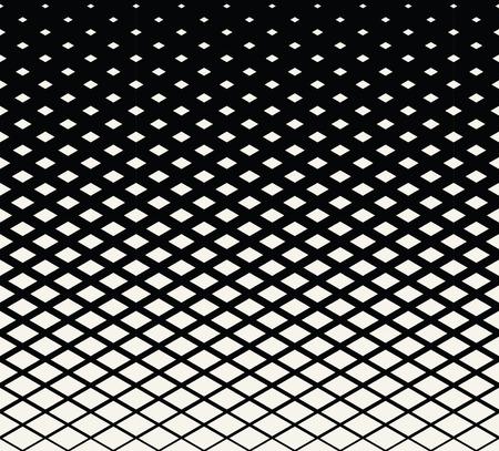 Diamond geometric gradient pattern