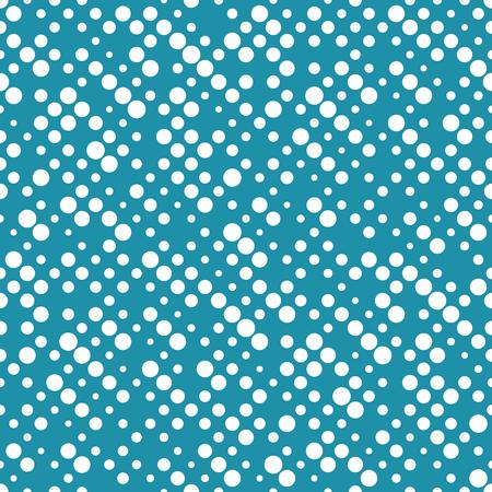 geometric dots deco art seamless pattern design