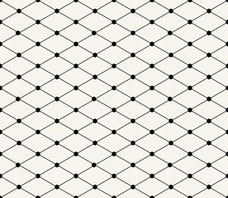 Modèle de vecteur de grille géométrique transparent sans soudure