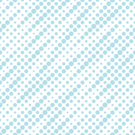 geometric dots halftone gradient seamless pattern design Illustration