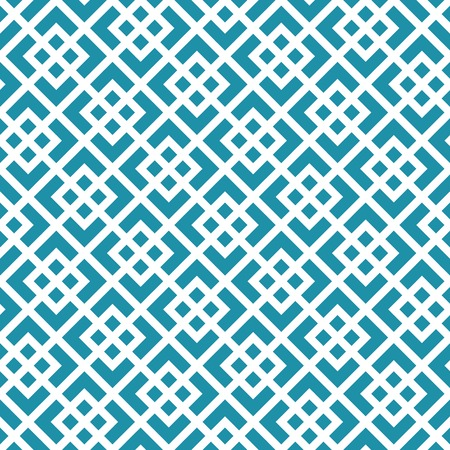 abstract seamless geometric grid square vector pattern Illustration