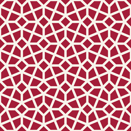 arabic geometric seamless ornament pattern Illustration