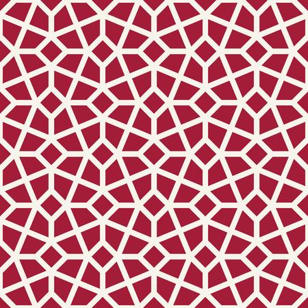 arabic geometric seamless ornament pattern Illustration