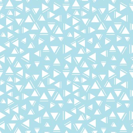 memphis style triangle seamless pattern Illustration
