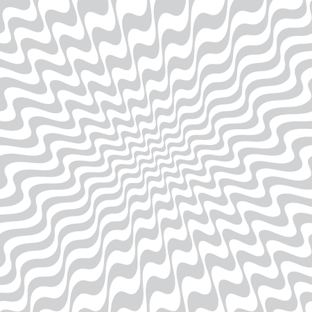 abstract wavy stripes seamless pattern Imagens - 97575767